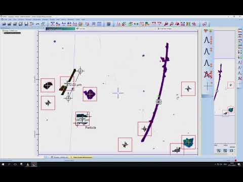 Particle Analysis – Find Regions – OPUS Software Tutorial