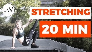 Routine Etirements / Stretching (20 min) - FITNESS STUDIO BY LUCILE