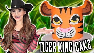 TIGER KING CAKE - NERDY NUMMIES