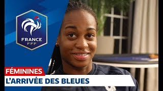 France-Brésil Féminines  : l'arrivée des Bleues à Clairefontaine I FFF 2018