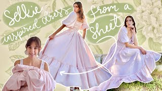 DIY Selkie Inspired Dress From A Sheet | Pattern Available | ✨Total Princess Vibes☁