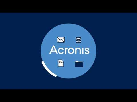 Hybrid Cloud Architecture for business data protection - Acronis Backup