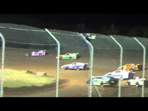 Ark La Tex Speedway Limited modified heat 3 part 2 tootsie smith