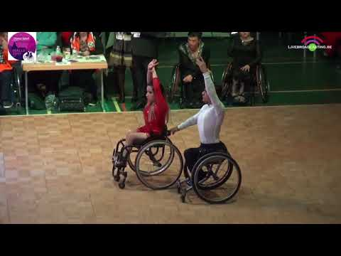 Duo Latin Class 1 and 2 | Malle 2017 | World Para Dance Sport Championships