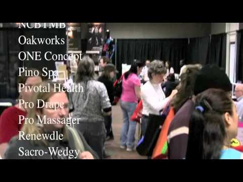 Vendors At The 2011 American Massage Conference