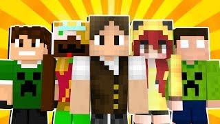 Minecraft Lendário #1: O NOVO MINECRAFT ÉPICO COM YOUTUBERS! (NOVA SÉRIE)