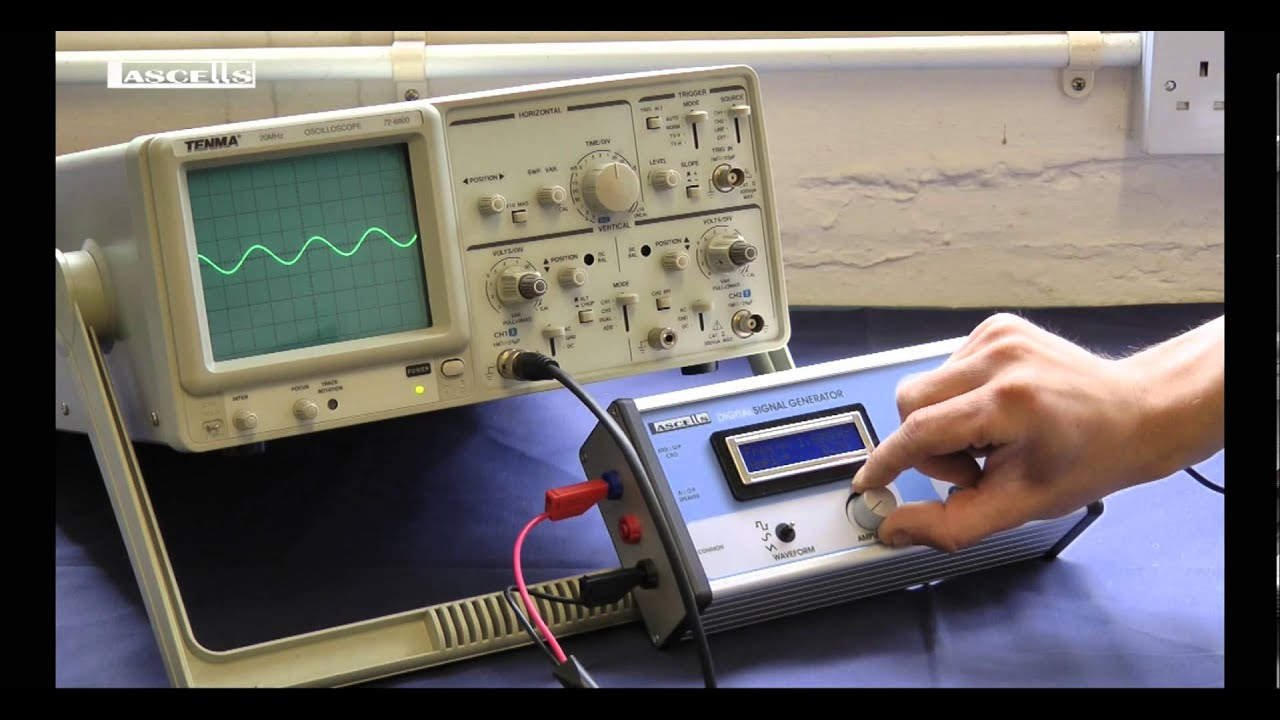 Digital Signal Generator : Digital signal generator scope youtube
