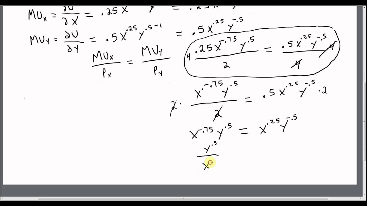 utility maximization How to calculate marginal utility in economics, marginal utility mu is a way to measure how much value or satisfaction a consumer gets out of consuming something as.