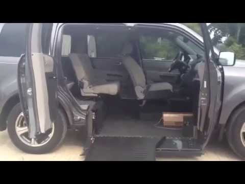 wheelchair accessible honda pilot youtube
