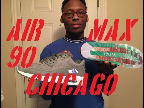 Nike Air Max Chicago Prm Qs New Skoofee