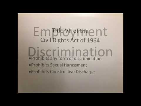 GBS205 - Employment Discrimination - Discrimination based on National Origin