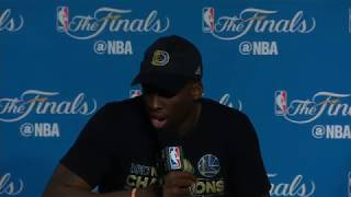 Draymond Green, Klay Thompson NBA Finals Game 5 Press Conference