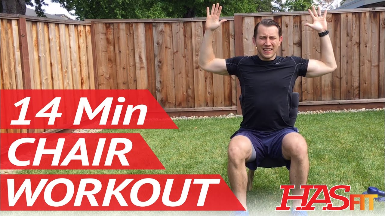 Chair exercises for seniors - 14 Min Chair Workout W Coach Kozak Hasfit Chair Exercises For Seniors Seated Exercise Youtube