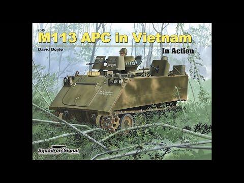 M113 APC in Vietnam In Action
