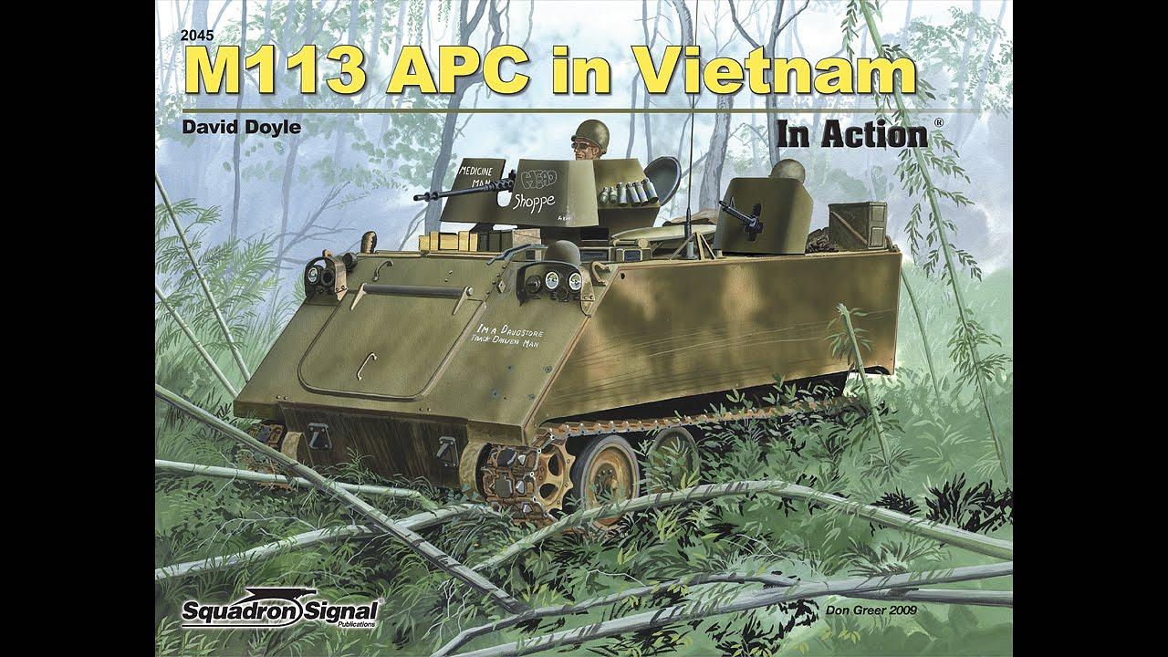 M113 Apc In Vietnam In Action Youtube