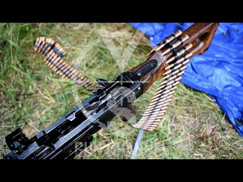 PKM 7.62 Belt-Fed Machine Gun (FULL Auto)