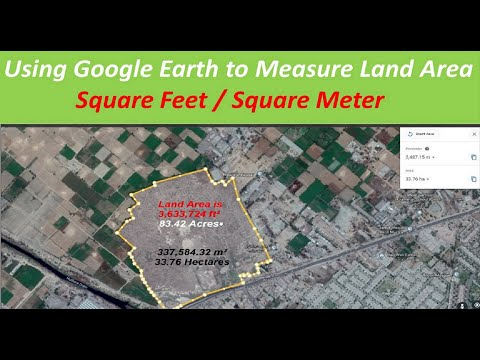 How to calculate Land Area With google Earth from YouTube · Duration:  3 minutes 49 seconds