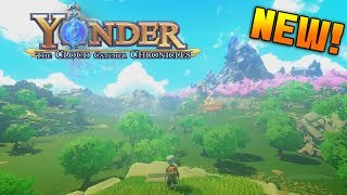 Exploring a NEW WORLD!! | Yonder : The Cloud Catcher Chronicles (1)