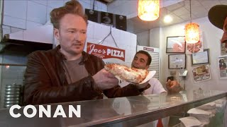 Conan Makes NYC Pizza  CONAN on TBS