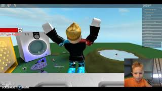 I WENT FLYING (Roblox Rig Ragdoll
