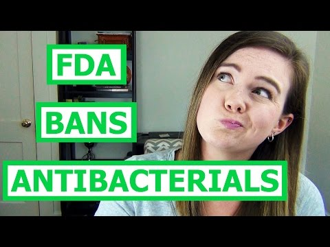 Antibacterial Soap BANNED by FDA