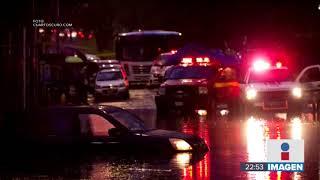 Las fuertes lluvias provocan inundaciones y caos vial en la CDMX | Noticias con Ciro