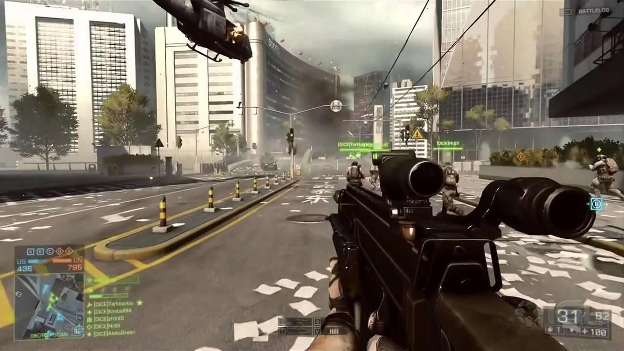 Battlefield 4 мультиплеер