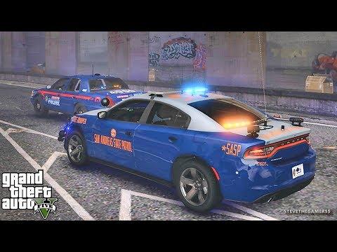 GTA 5 MODS LSPDFR 926 - GEORGIA STATE PATROL!!! (GTA 5 REAL LIFE PC MOD)
