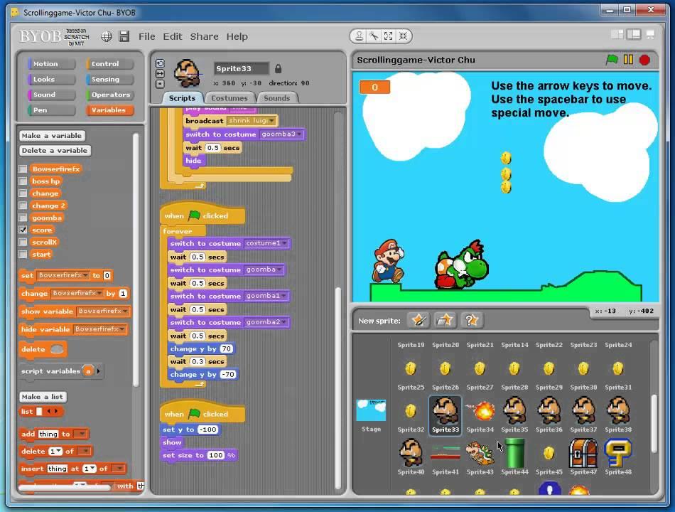 Mario Final Game mp4 Semester 1 2013 final Game design Victor