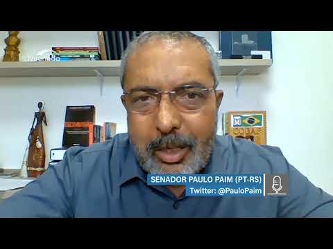 Paulo Paim destaca proposta que prevê 14º salário a aposentados