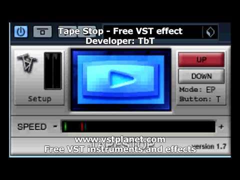 Tape stop - freeware plugin - cool fx :) - YouTube |Tapestop Vst