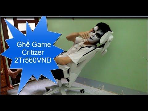 Kòi octiiu957 Giới Thiểu Ghế Đang Xài : Ghế Game Critizer 2TR560 VND