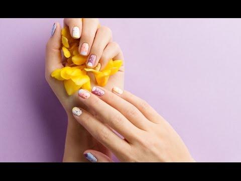 Pastel Spring Nails Tutorial   Oriflame Cosmetics