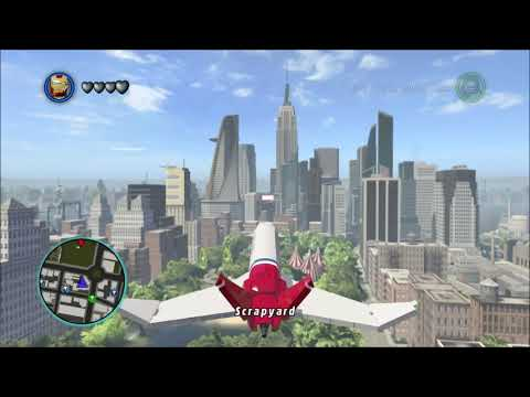 HOW BIG IS THE MAP In Lego Marvel Super Heroes? Fly Across The Map