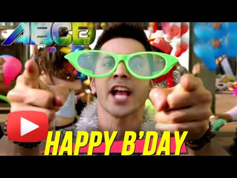 Happy Birthday Full Video Song OUT | ABCD2 - Any Body Can Dance 2 | Varun Dhawan, Shraddha Kapoor