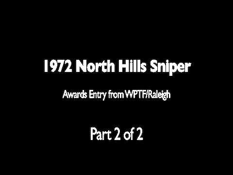 WPTF Radio: 1972 North Hills Mall Shooting (Part 2)