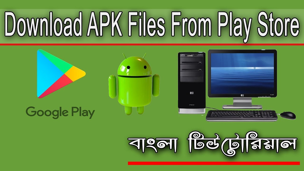 google play download apk for pc