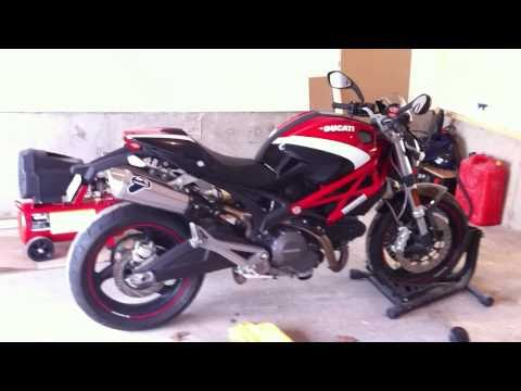 Ducati Monster 696 with Titanium Termignoni Exhaust