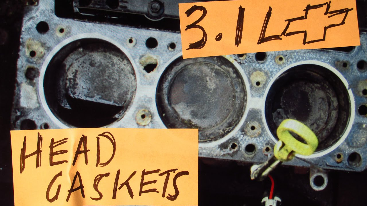 How to REPLACE the HEAD GASKETS on a 2003 CHEVY MALIBU with a 31