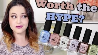 KL Polish Spring Collection 2017 Swatches & Review! | Jen Luvs Reviews