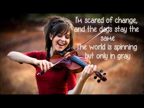 Shatter Me Lindsey Stirling (ft. Lzzy Hale) Lyric video