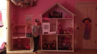 American Girl Dollhouse Tour Our Generation House And Lemonade Stand