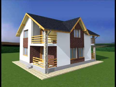 Casa sv7 suceava proiecte case tip suceava for Youtube case cu mansarda