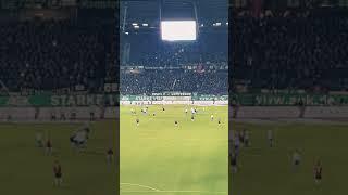 HANNOVER 96 Elfmeter zum 2:0 gegen VfL Wolfsburg