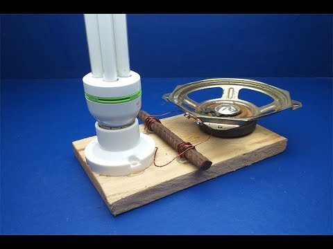Magnet Speaker Using