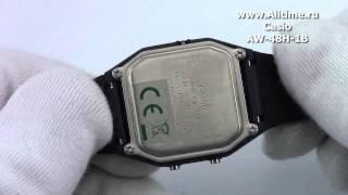 мужские японские наручные часы casio aw 48h 1b