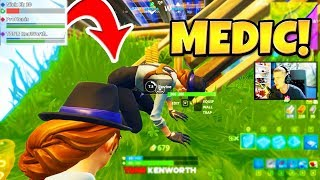 SAVING PVT. NICK EH 30 in Fortnite!!  | TBNRKENWORTH