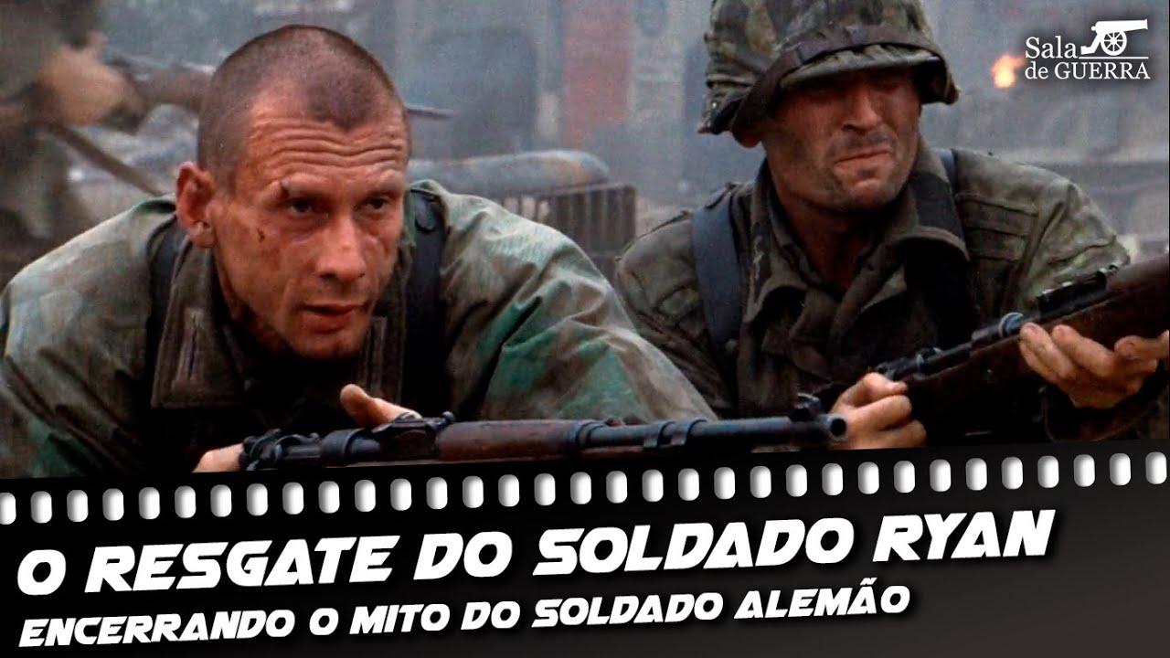 O Resgate do Soldado Ryan (1998) | Encerrando o mito do soldado alemão