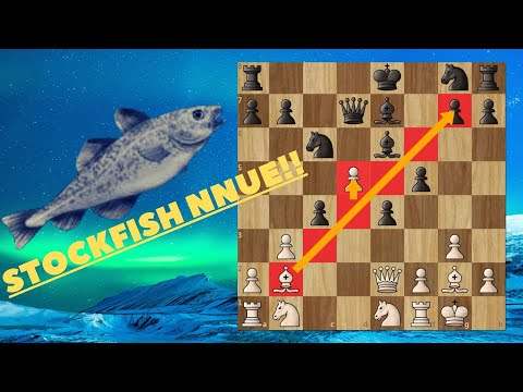 The Birth Of A Chessgod! Stockfish NNUE (efficiently Updateable Neural Network) Destroys Stoofvlees