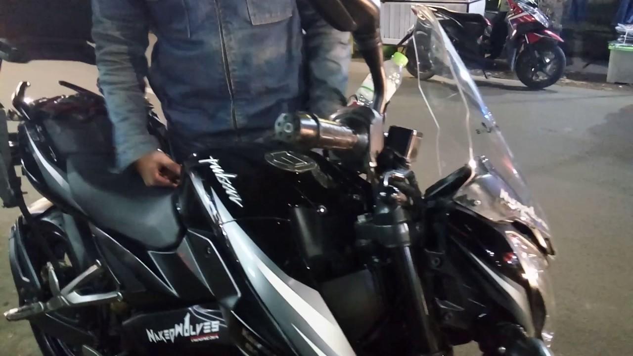 Motovlog Cara Mengencangkan Komstir Holder Hp Pada Kawasaki Ninja 250r Bajaj Pulsar 200ns